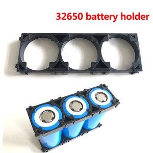 20/30/40/50 шт. 32650 1x3 держатель батареи кронштейн безопасности анти вибрации пластиковые скобы для 32650 Diy батарейный блок разделитель держатель
