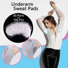 100/200/300/400 almofadas descartáveis do suor das axilas dos pces para a roupa anti suor almofadas absorventes dos desodorantes do verão protetor adesivo
