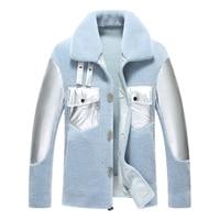 Wool Coat Men Thick Overcoats Topcoat Mens Coats And Jackets 4 Colours L 4XL