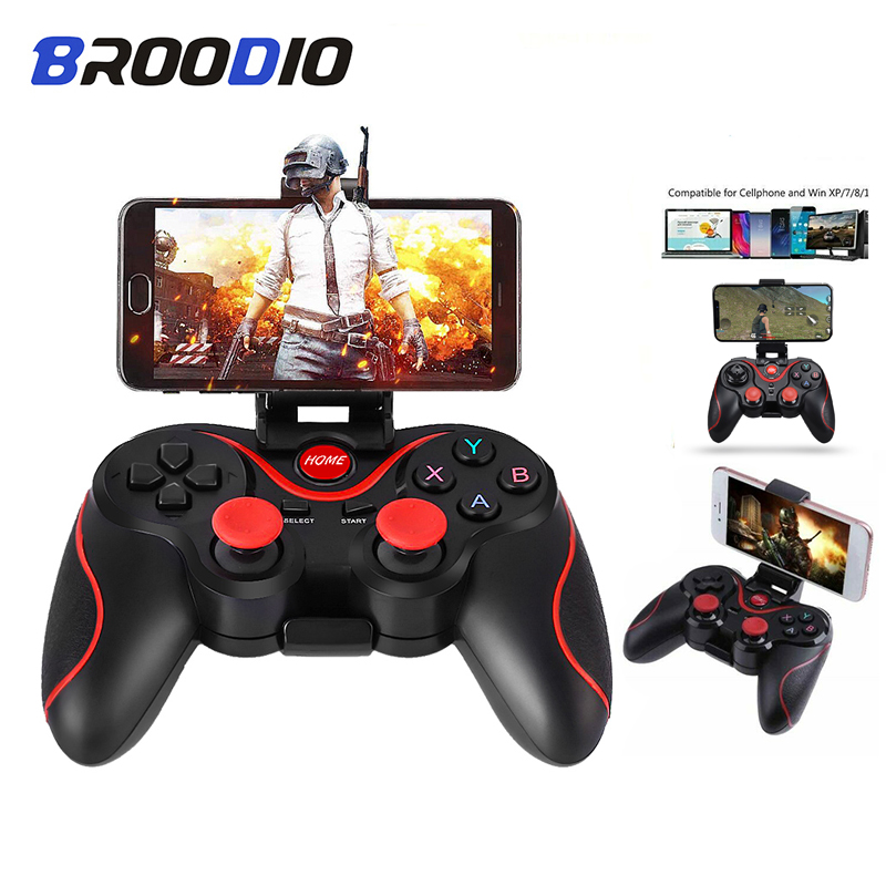 Wireless Android Gamepad X3 Wireless Joystick Game Controller Bluetooth BT3.0 Joystick For IOS Android Game Handle For PC TV Box