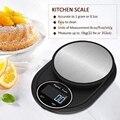 Портативные кухонные весы  Кухонные весы до 5 кг с ЖК дисплеем