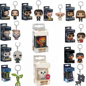 FUNKO Keychain Action-Figure HEDWIG DOBBY FAWKES Voldemort-Collection HERMIONE POP Harri Potter