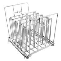 Edelstahl Sous Vide Rack für Die Meisten 11L Sous Vide Herd Container Abnehmbare Teiler Separator für Immersion Koaxial thermostate-in Regale und Halter aus Heim und Garten bei