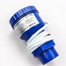 Ультразвуковой датчик уровня для измерения уровня жидкого масла, топлива, 4-20mA выход, индикатор уровня резервуара для воды, ультразвуковой датчик уровня, измеритель
