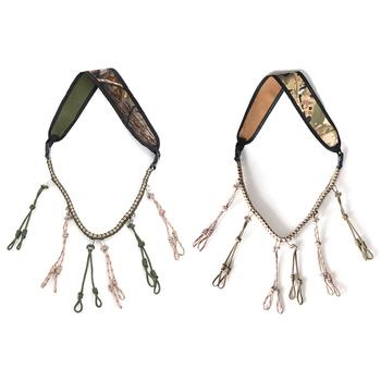 Wabik gwizdek lina Outdoor Hunter gra smycz polowanie kaczka zadzwoń smycz muzyczne przyjemne materiały do instrumentów tanie i dobre opinie CN (pochodzenie) Duck Call Lanyard