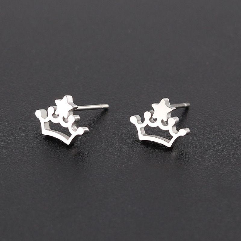 Enchanted Crowns Stud Earrings