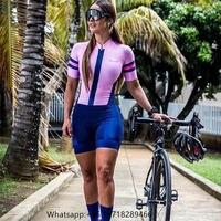 Pro team frenesi trisuit women's short sleeved jumpsuit custom sportswear triathlon suit roadbike apparel ropa ciclicmo mujer