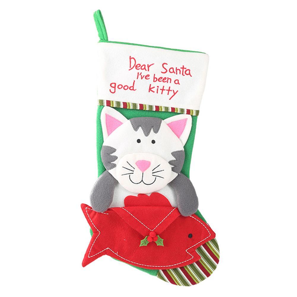 Christmas Cat Stocking