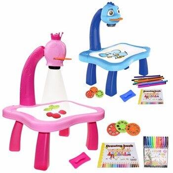 Barnprojektor lärande leksak