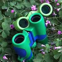 1 PC Protable Compact Small Binoculars 8X21 Mini Powerful Shock Proof Telescope Lightweight Pocket High Magnification Low