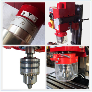 Image 5 - 750W Mill/Drill Milling and Drilling Machine Brushless Motor 220V
