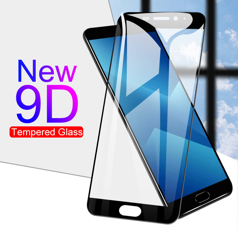9D Protective Glass For Meizu M5 M6 M8 Note M5C M5S M6T M6S Screen Protector For Meizu V8 Pro M8 Lite Full Cover Tempered Glass
