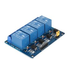 12V 4 Channel Relay Module Interface Board Low Level Trigger