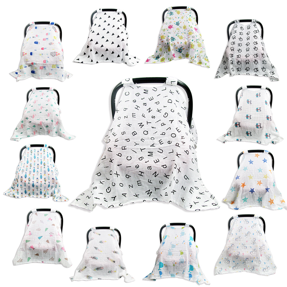 Windproof Baby Stroller Cover Multi Use Maternity Breastfeeding Nursing Cover For Baby Newborn Bebe Shopping Cart Cover Mother