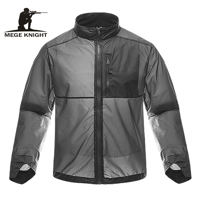 MEGE Brand Summer Ultra Light Thin Tactical Jacket Military Clothing Army Camouflage UV Protection Waterproof Jacket Dropshippin