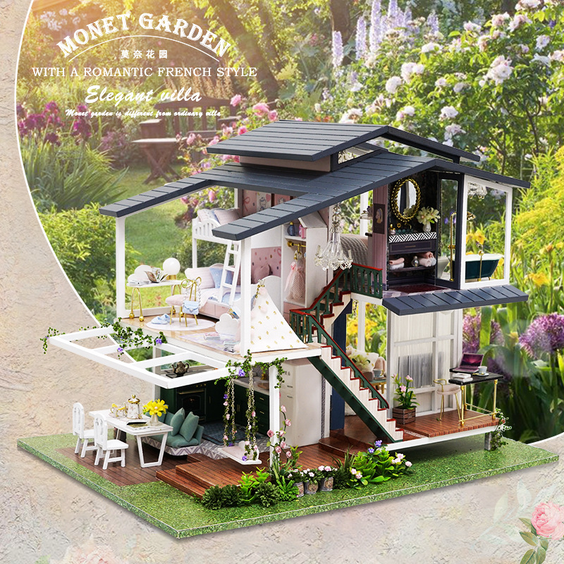 Miniature Model DIY Doll Puppet House Small Furniture Toys To Give Girlfriend Valentine's Day And Children's Birthday Toys Gifts