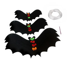 12 stk/set Halloween Decoratie 3D Zwart PVC Bat Halloween Party DIY Decor Muursticker Bar Kamer Halloween Party Eng Decos props(China)