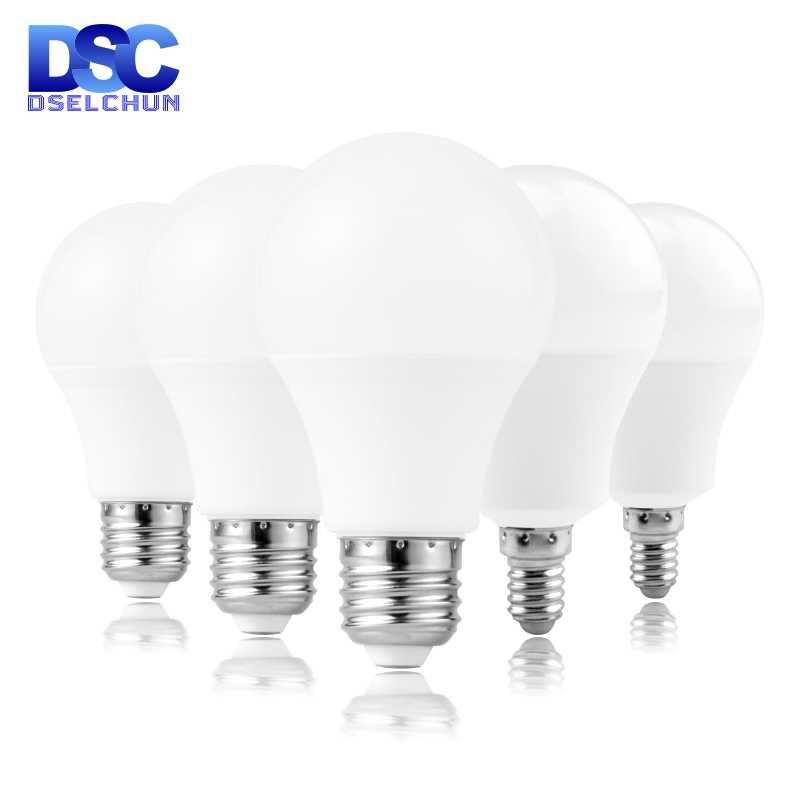 E27 E14 LED ampul lambaları 3W 6W 9W 12W 15W 18W 20W Lampada LED ışık ampul AC 220V 230V 240V Bombilla spot soğuk/sıcak beyaz