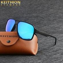KEITHION Square Shield Sunglasses Men Driving 2017 Male Luxu