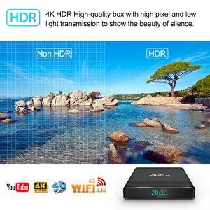 Image 4 - 2020 X96 hava 8K Android 9.0 akıllı TV kutusu 4GB 64GB dört çekirdekli çift Wifi Google oyuncu youtube Set üstü kutusu H96 max X96air KM3