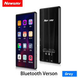 NEW Portable MP4 Player Touchscreen Support Bluetooth 5 Inch Mp3 Novel E-book MP4 Music Player FM Radio Video 8GB 32G Walkman