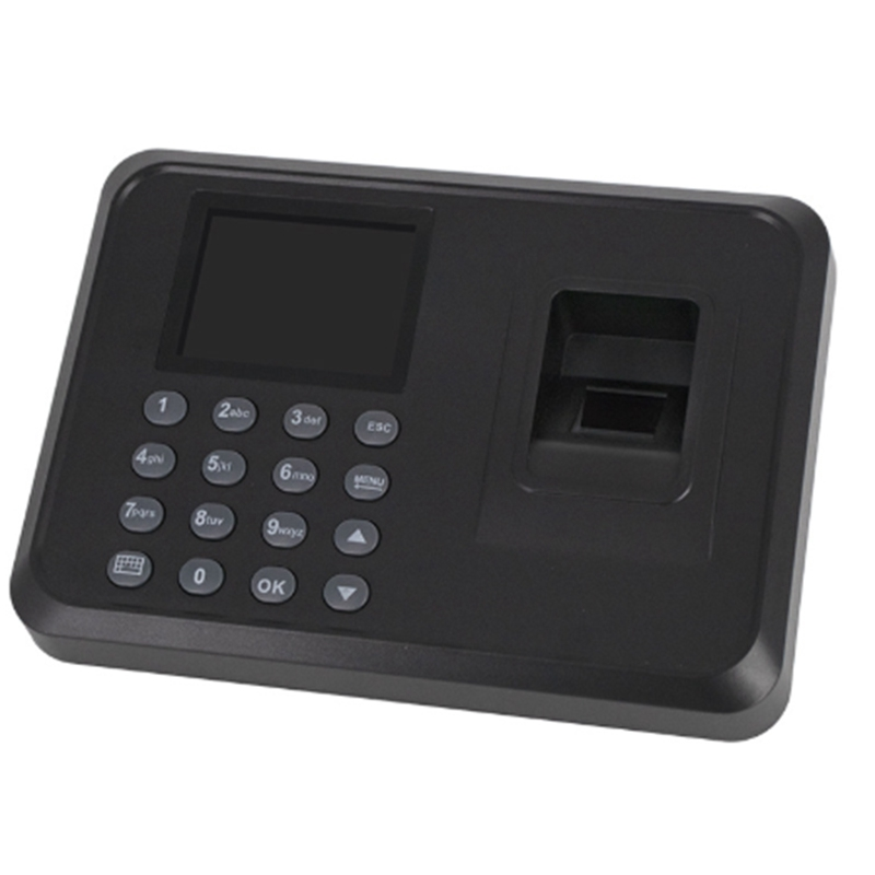 מערכת נוכחות ביומטרי קורא טביעות אצבע שעון זמן לעובדי גישת מכונה נסיעה אגרוף כרטיס מכונה E