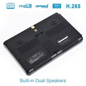 Image 3 - LEADSTAR DVB T2 de TV portátil de 10 pulgadas, HD, ATSC, ISDB T, tdt, Digital y analógico, para coche pequeño, compatible con USB, SD, MP4, H.265, AC3
