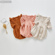 Knitted Baby Clothes Newborn Baby Romper