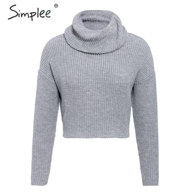 SIMPLEE Seksikas pullover