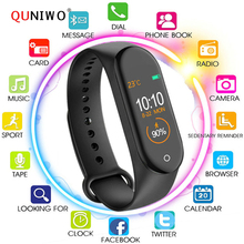 M4 Smart bracelet Watch band 4 Fitness Tracker Sport Heart Rate Blood Pressure Smartband Monitor Health Wristband PK M3 band 4 m4 smart band wristband fitness tracker watch sport bracelet heart rate monitor smartband health wristband pk mi band 4 3