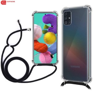 Image 1 - Case For Samsung Galaxy S20 Ultra S10 S9 Note 10 Plus A71 A51 A91 A81 A01 A21 A31 A41 A70 A50 Crossbody Necklace Lanyard Cover