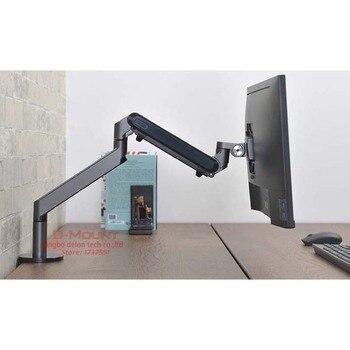 2018 Новый OZ-1 17-32 дюймов держатель монитора настольная подставка одна рукоятка газовый пружинный кронштейн для монитора