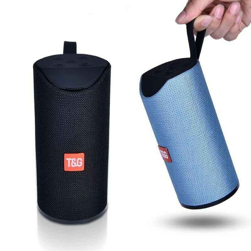 TG Portable Bluetooth Speaker Outdoor Waterproof Loudspeaker Wireless Mini Column 10W Stereo Music Support FM TF Card Bass Box