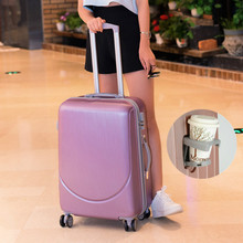 Vintage ABS+PC Trolley Suitcases Rolling Luggage Spinner Women Travel Bag 20 inch Cabin Suitcases Wheel 24/26 inch Retro Trunk