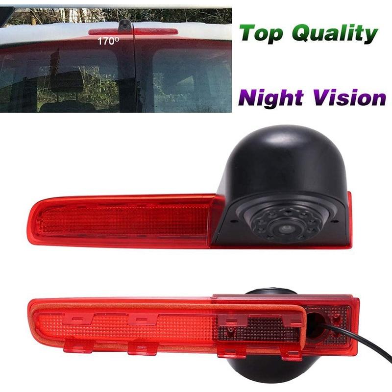 Автомобильный водонепроницаемый высокий тормозной светильник камера заднего вида для T5 T6 Caravelle Multivan Transporter Van 2010-2017