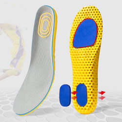 Fashion Breathable Soft Insoles 1 Pair Breathable Orthopedic insoles Women Men Running Sports Shoes Pads Insoles Arch Support