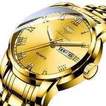 цена Quartz Watch Luxury Fashion Business Sports Running Waterproof Men Nektom Wristwatches Stainless Steel Leather Sapphire Crystal онлайн в 2017 году
