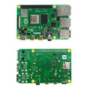 Image 2 - פטל Pi 4 דגם B Starter kit 2/4G RAM 2.4G & 5G WiFi Bluetooth 5.0 מיקרו HDMI Calbe + אקריליק מקרה + אספקת חשמל עבור Pi 4