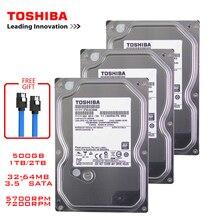 "Toshiba 500 Gb Desktop Del Computer Hdd 3.5 ""Internal Hard Disk Meccanico SATA3 6 Gb/s Hard Disk 1 Tb 2 tb 5700 7200 Rpm Buffer"