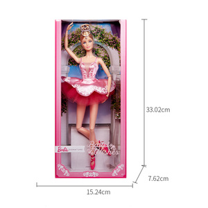 Image 5 - 오리지널 바비 인형 25 번째 수집가의 아름다운 공주님 아기 소녀 용 장난감 어린이 선물 Brinquedos Bonecas