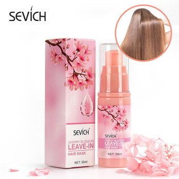 Sevich 30ml Smoothes Cherry Blossom Leave-in Hair Mask Amino acid Hair Care Mask Help Repair Damaged Hair Nourishing Hair Mask 1