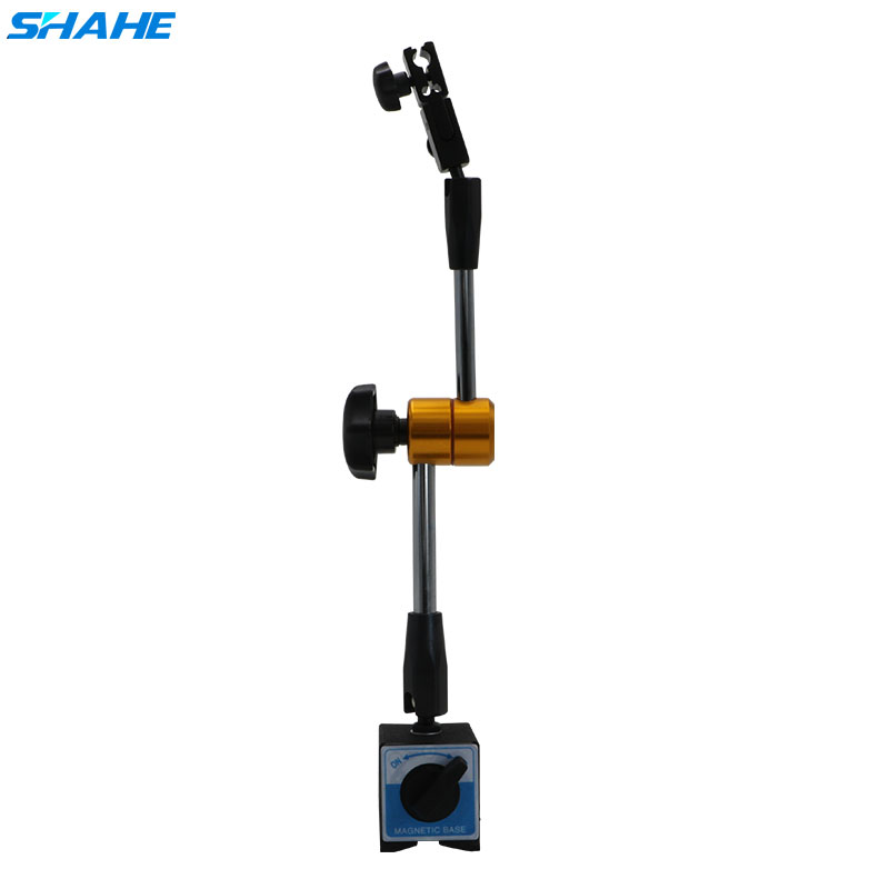 SHAHE 60kg Universal Magnetic Stand Table Seat Magnetic Table Mechanical Dial Indicator Holder Dial Block Magnetic Base