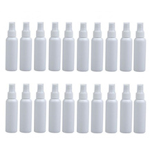 20Pcs 100Ml Refillable Mini Perfume Spray Bottle Empty Cosmetic Containers Plastic Atomizer Portable Travel