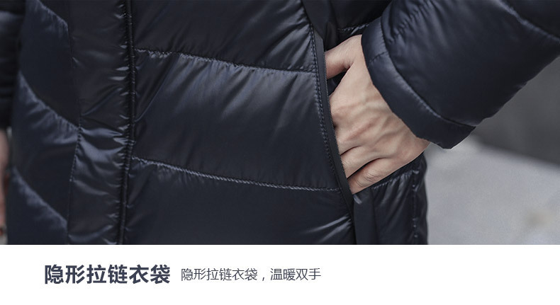 baixo jaqueta coreano parka doudoune homme 1806 kj3026