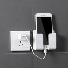 Wall-Charger Hook Hanging-Stand-Bracket Head-Storage Mobile-Phone-Holder Cellphone 1pcs
