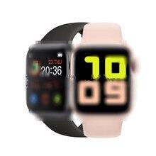 Reloj inteligente X7 Plus con Bluetooth, dispositivo completamente táctil con llamadas, seguidor de actividad/deporte, control del ritmo cardíaco y la presión sanguínea, podómetro