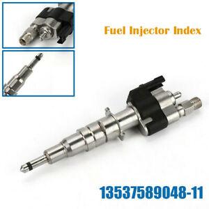 Ремонт автомобиля топливный инжектор индекс 11 бензин инжектор типов 13537589048-11 для BMW E61 E60 E93 E92 E91 E90 E82 E87 E88 F10