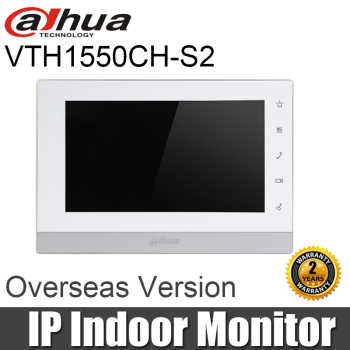 "New Dahua VTH1550CH-S2 Indoor Monitor 7"" Touch Screen IP Video Intercom SD Card Slot IPC Surveillance Alarm Replace VTH1550CH - DISCOUNT ITEM  20 OFF Security & Protection"