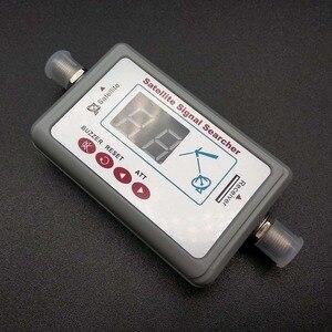 Image 2 - Antena telewizyjna cyfrowy miernik i lokalizator sygnału satelitarnego wyświetlacz LCD FTA DIRECTV wskaźnik sygnału narzędzie do wyszukiwania sygnału telewizyjnego