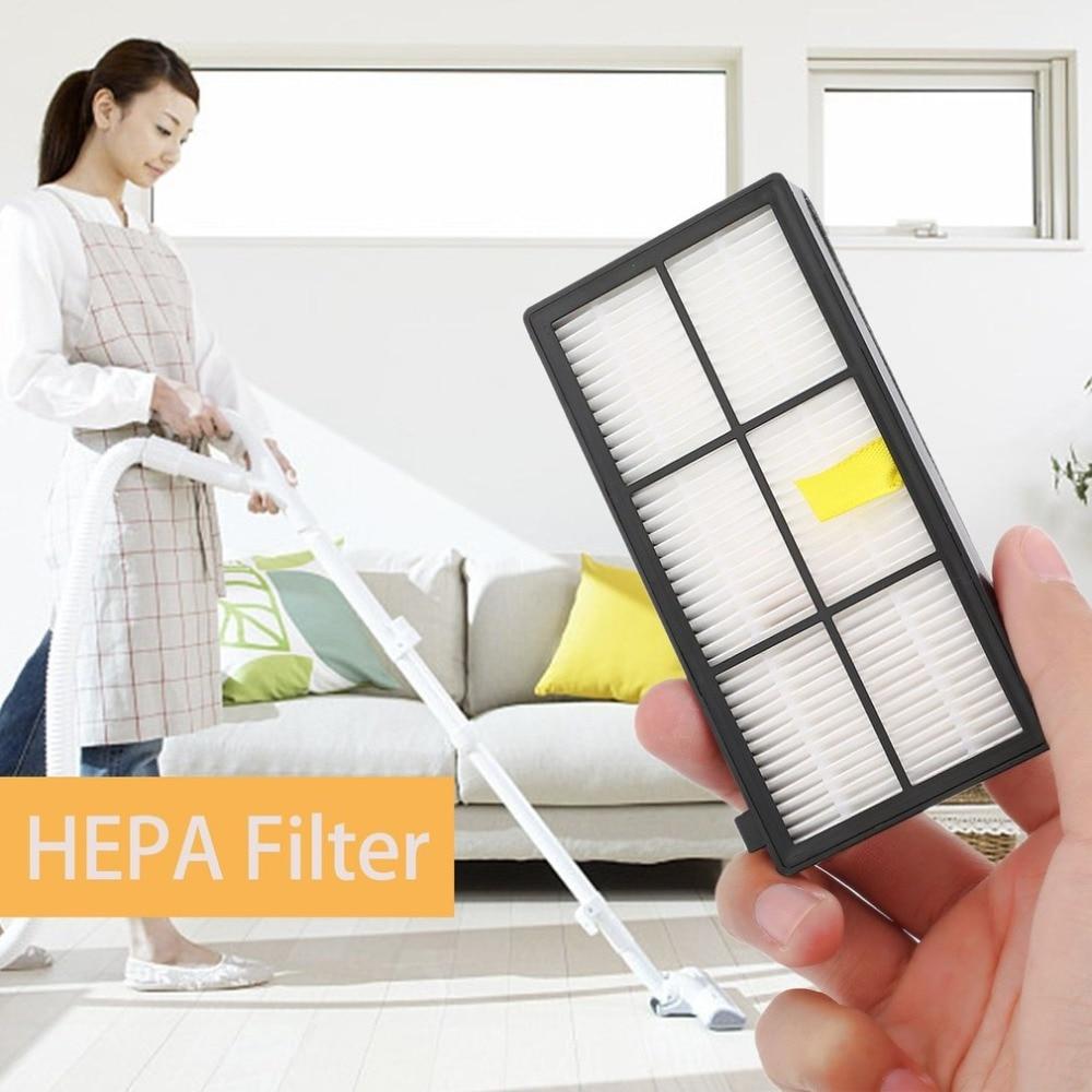 Arrebatadora Robô Aspirador de pó Acessórios Substituir Peças Kit de Substituição do Filtro HEPA Para iRobot Para Roomba Série 800 870 880
